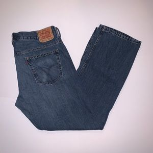 Levi's 569 Loose Straight Blue Jeans 36 x 34